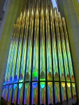 organ in La Sagrada Familia